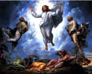 The Transfiguration (top portion), Raffaello Sanzio 1516- 1520