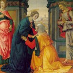 The Visitation by Domenico Ghirlandaio 1486-1490