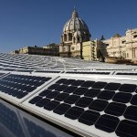 Solar Panels on top of Paul VI Audience Hall