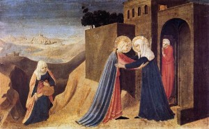 Visitation by Fra Angelico 1433-34