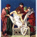 Image of Christ Laid in the tomb
